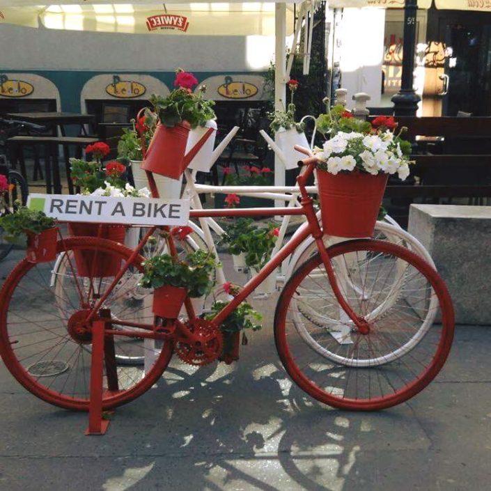 Fahrradverleih, Sykkelutleie, Polkupyöränvuokraus Gdansk